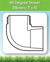 90 Degree Street Elbows (T x S)
