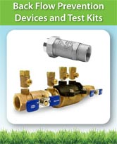 Back Flow Prevention Devices and Test Kits