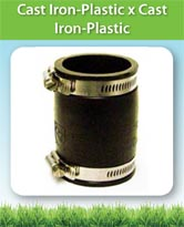 Cast Iron-Plastic x Cast Iron-Plastic