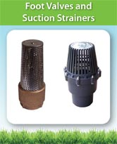 Foot Valves and Suction Strainers
