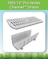 NDS 12 Inch Pro Series Channel™ Drains