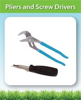Pliers and Screw Drivers