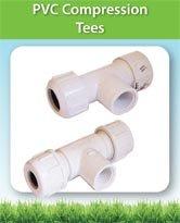 PVC Compression Tees