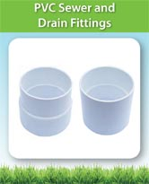 PVC Sewer and Drain Fittings