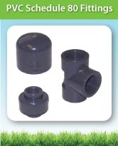 PVC Schedule 80 Fittings