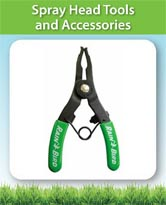 Spray Head Tools and Accessories