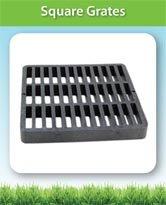 Square Grates