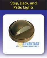 Step, Deck, and Patio Lights