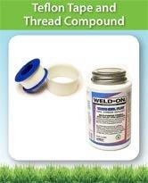 Teflon Tape and Thread Compound