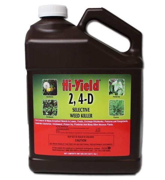 Hi Yield 2,4-D Selective Weed Killer Gallon