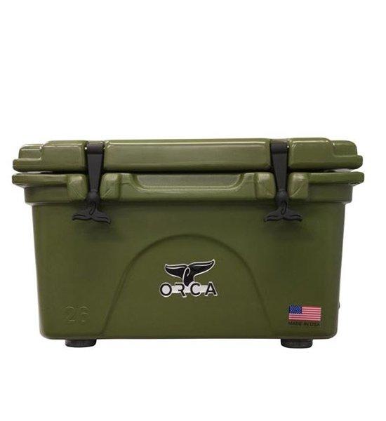 Green 26 Quart Cooler