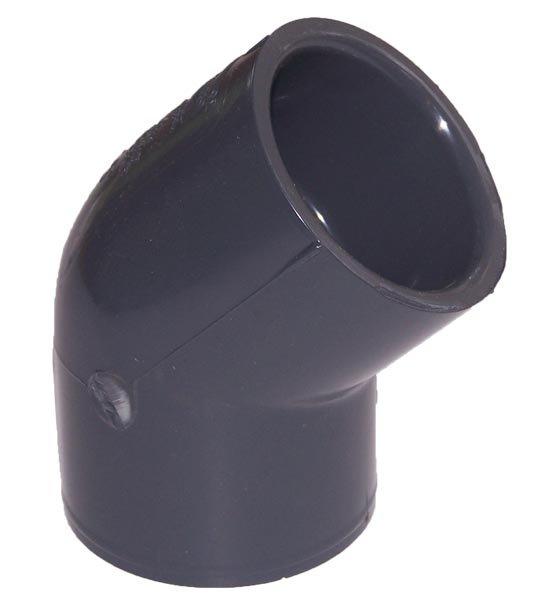 45 Degree Elbow, Socket x Socket 1-1/2″