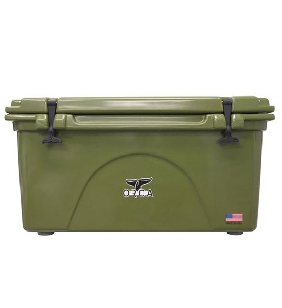 Green 75 Quart Cooler