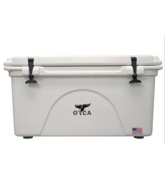 White 75 Quart Cooler