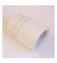 Hose Swivel Adapter, 1/2″ Female IPT x 3/4″ Female Hose Thread (With Washer)