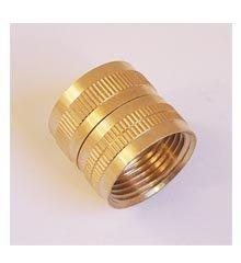 Hose Adapter, 3/4″ Female IPT x 3/4″ Female Hose Thread – Brass