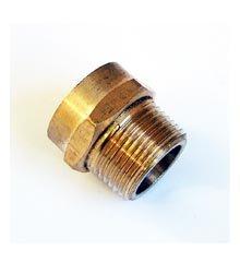 Hose Adapter, 3/4″ Male IPT x 3/4″ Female Hose Thread – Brass