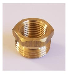 Hose Adapter, 1/2″ Female IPT x 3/4″ Male Hose Thread – Brass