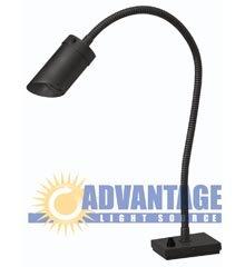 BBQ / Counter Top Light, 22″ Ht x 4″ Base, 120 V, (20 Watt MR-16 Bulb Not Included)