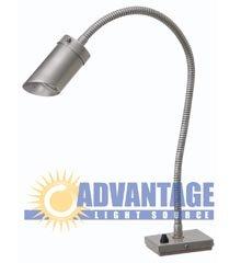 BBQ / Counter Top Light, 22″ Ht x 4″ Base, 25′ Lead, 12 V (20 Watt MR-16 Bulb Not Included)