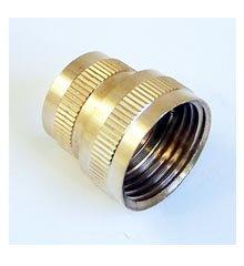 Hose Adapter, 1/2″ Female IPT x 3/4″ Female Hose Thread – Brass