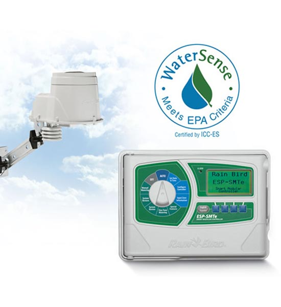 Smart Controller, 4 Station Modular w/ Weather Station Expands to 22 Stations, Outdoor