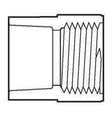 Female Adapter, Socket x Female IPT 2-1/2″