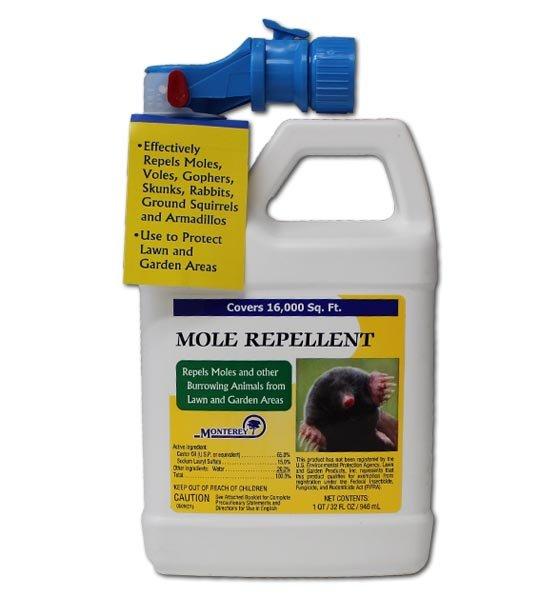 Monterey Mole Repellent Ready to Spray 32 Oz