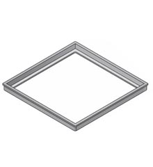 Frame to Adapt 18″ x 18″ Grate to Concrete Basin