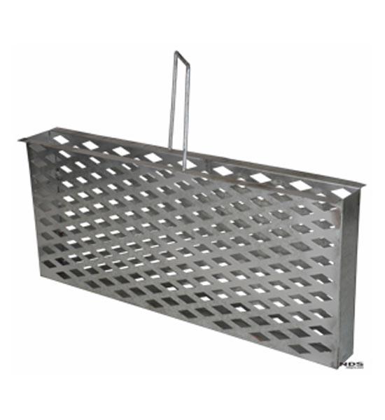 Dura Slope™ Trash Bucket, Zinc Plated Steel