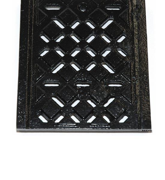 Channel Grate, Dura Slope™, Ductile Iron, Diamond Pattern (2 ' long)