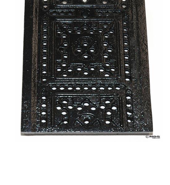 Channel Grate, Dura Slope™, Ductile Iron, Tile Pattern (2 ' long)
