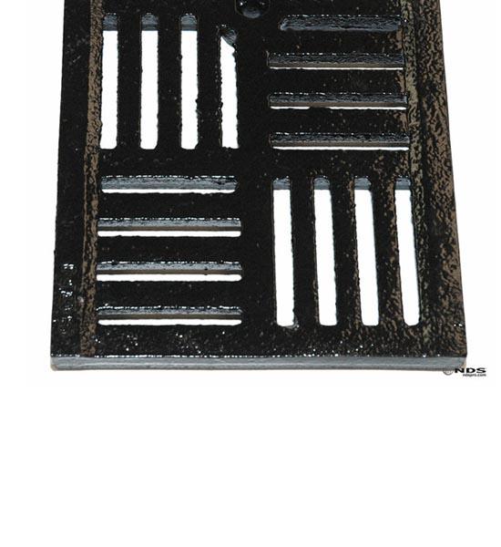 Channel Grate, Dura Slope™, Ductile Iron, Deco Slot (2 ' long)