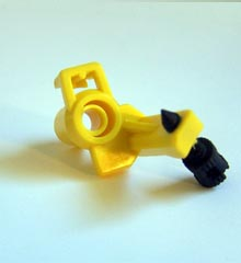 # 10 Low Angle Nozzle For 2045A and Maxibird impact sprinkler (Yellow)