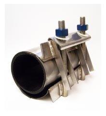 Repair Clamp 5″ x 8″ Long, Pipe OD Range (4.95″ – 5.35″)