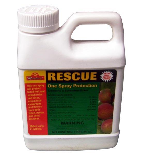 Rescue Fruit Tree Spray Insecticide + Fungicide 16 Oz