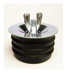 Test Plug, 4″, Steel Flange With Rubber Gasket