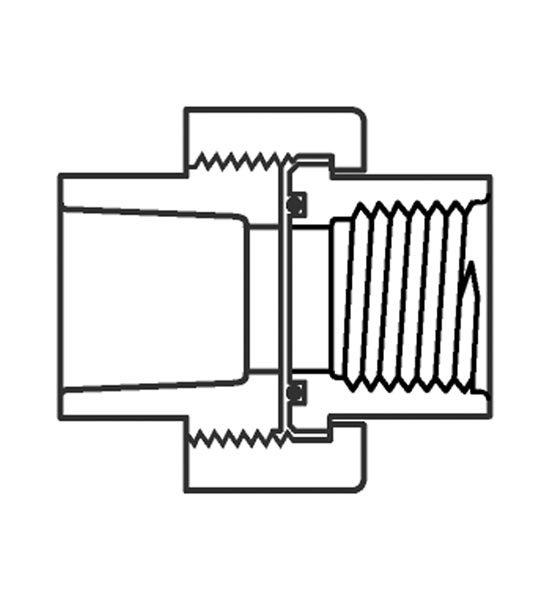 Union, Socket x Female IPT 1-1/4″