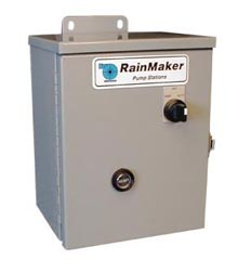 Motor Starter, 3 HP, 230 VAC, 1 Phase With NEMA 3R Enclosure & HOA Switch