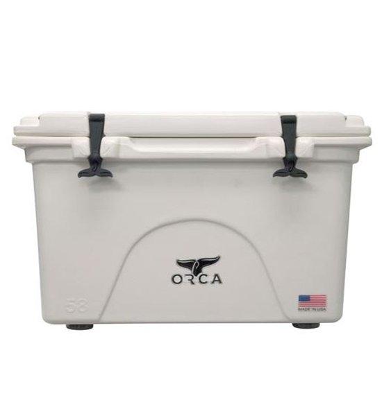 White 58 Quart Cooler