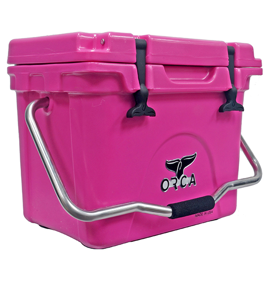 Pink 20 Quart Cooler